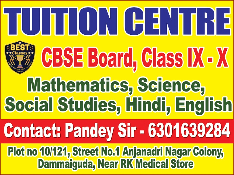 BEST Classes - Tuition Center for Class 10r